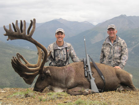 Norman Wells, in the Northwest Territories of Canada, was the jumping-off point for Matt Fleming and I to get into the Mackenzie Mountains. Matt shot this great woodland caribou in August of 2012.