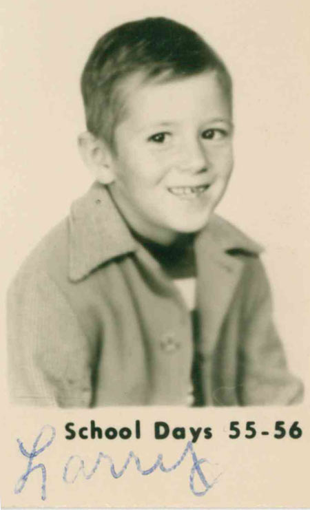 First grade, 1955/56 school year.