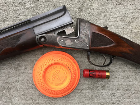 This old Parker Single Barrel Trap Gun breaks clay pigeons as well today as when it was made in the late 1920's.