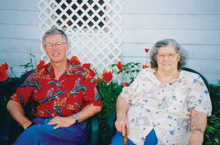 All of us kids got together on moms 80th birthday, in 2003; she was still living at her home.
