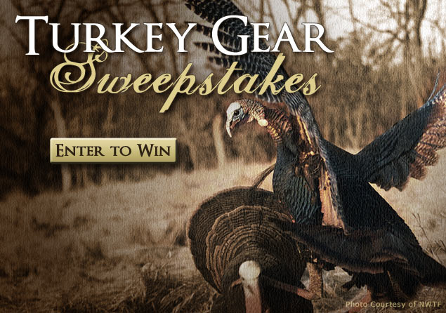 Enter to Win a Turkey Hunting Gear Package from MidwayUSA!