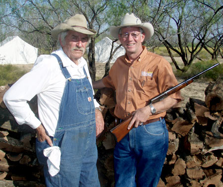 Bill Cauble and Larry Potterfield, Founder and CEO of MidwayUSA