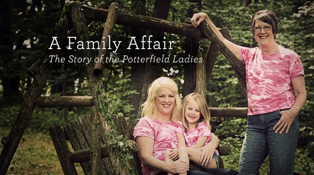 Sara, Eliza and Brenda Potterfield