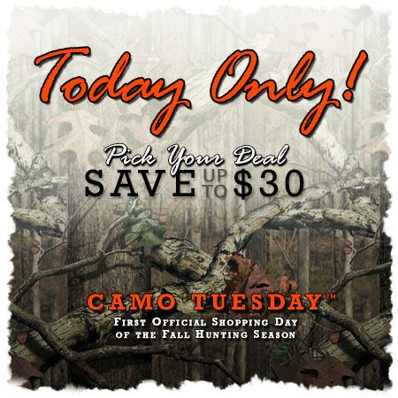 Camo Tuesday
