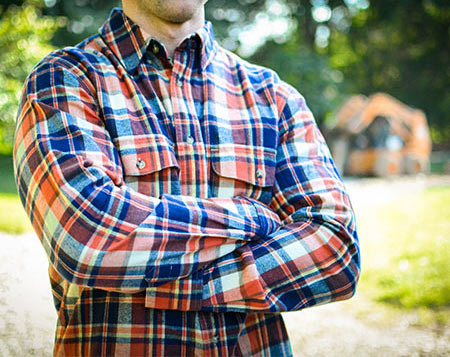 MidwayUSA Flannel Long Sleeve Shirt