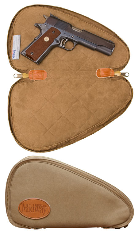 MidwayUSA Introduces MidwayUSA Deluxe Cotton Canvas Pistol Case
