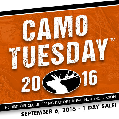 Today is Camo Tuesday at MidwayUSA!