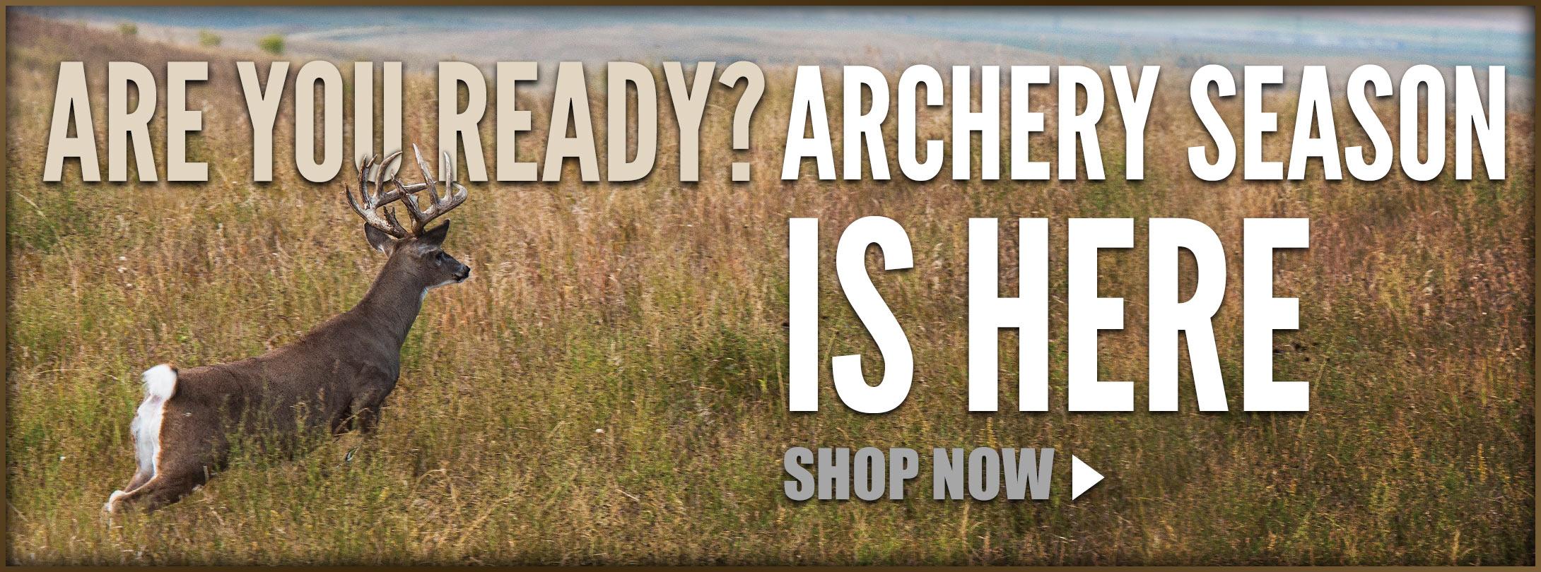 Archery Season is Here!