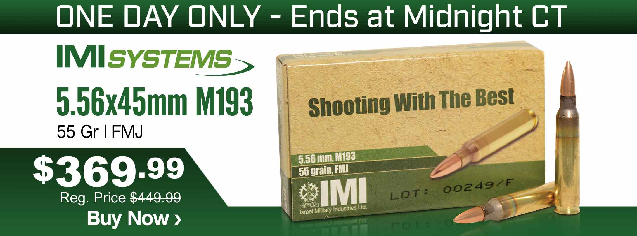 Save on IMI 5.56x45mm Ammo