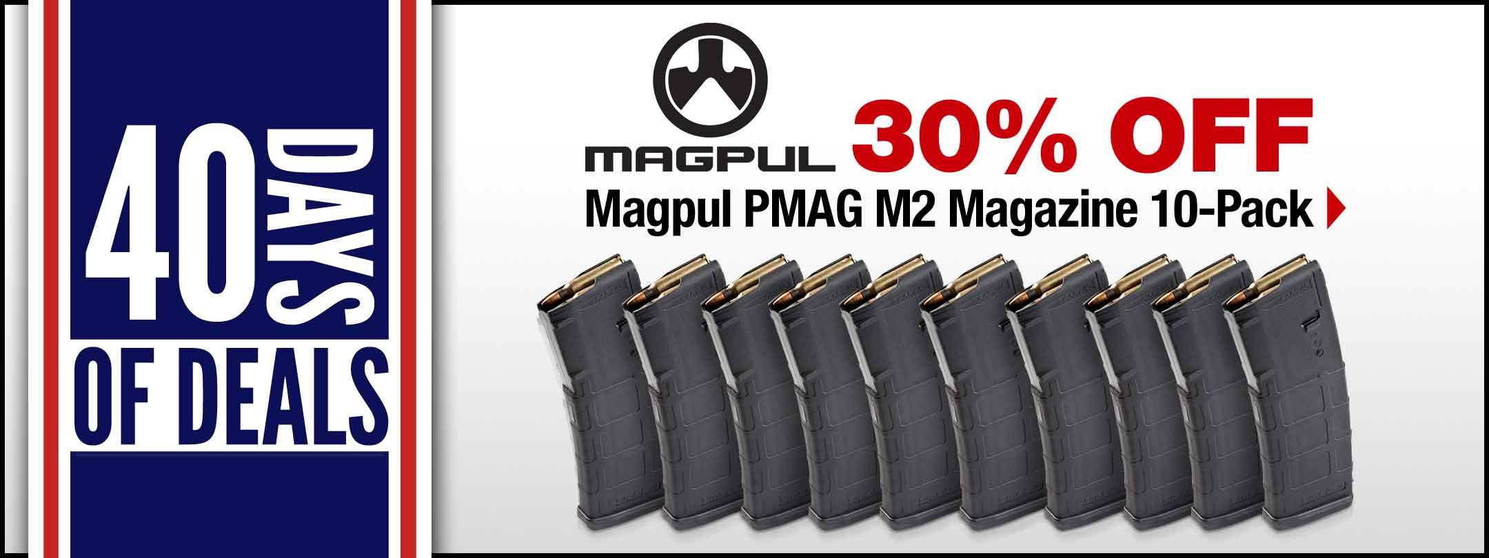 Magpul PMAG M2 Mag 10-pk