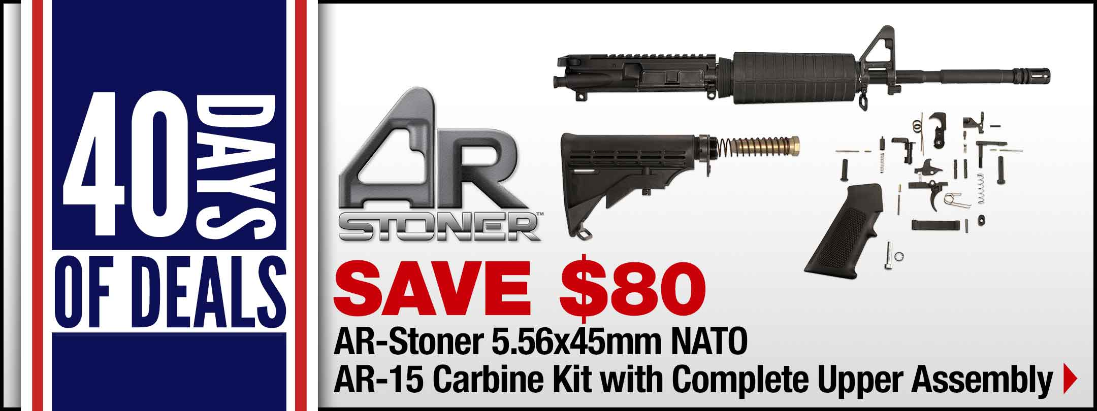 AR-Stoner 5.56x45mm NATO Carbine Kit with Complete Upper Assembly