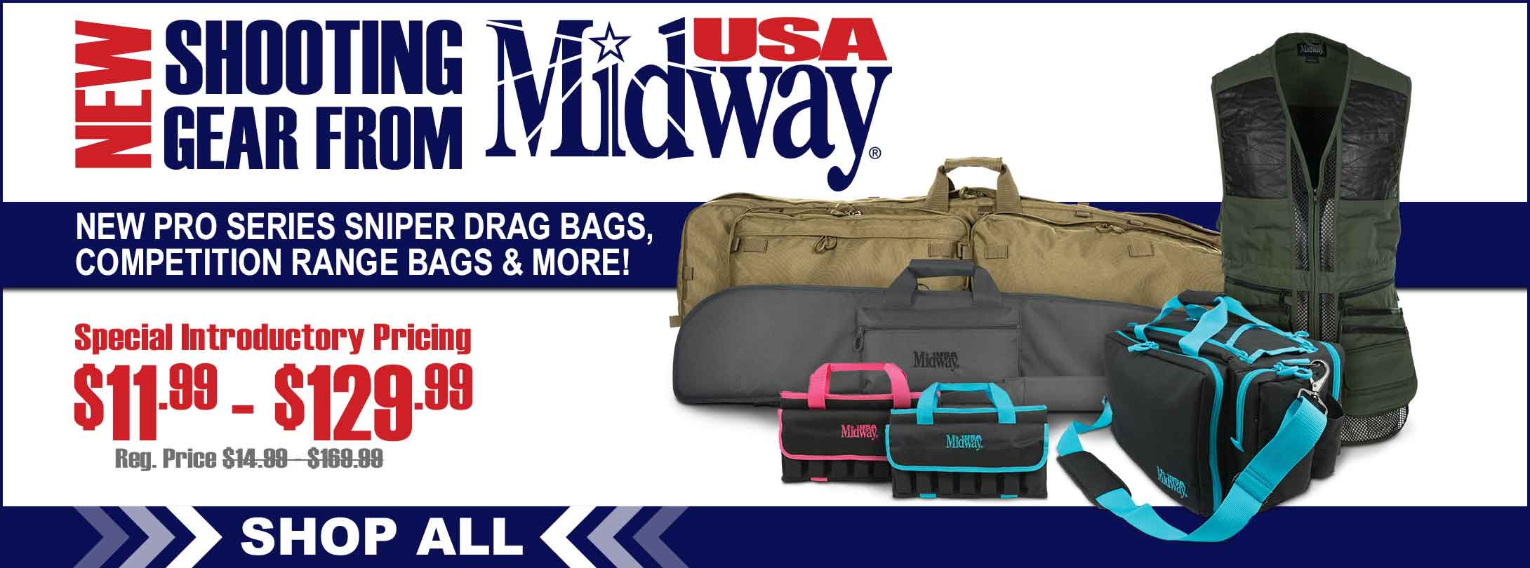 New Gear for the Range from MidwayUSA!