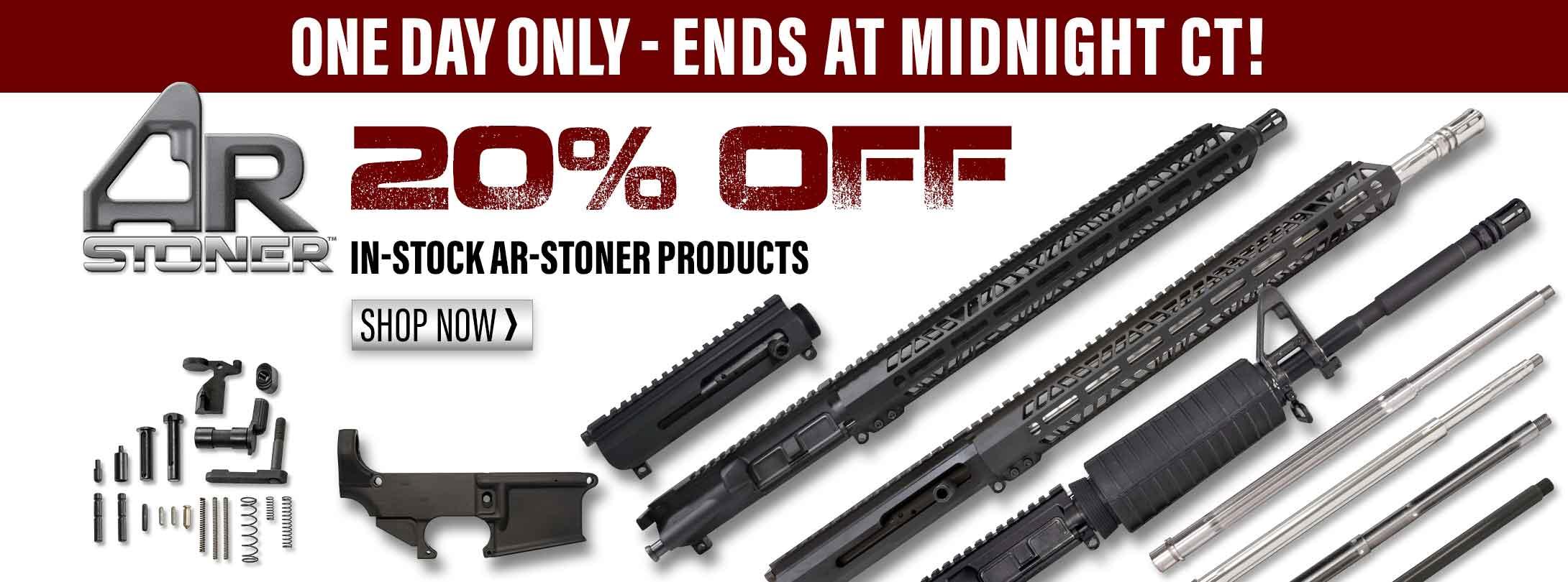 20% Off AR-Stoner