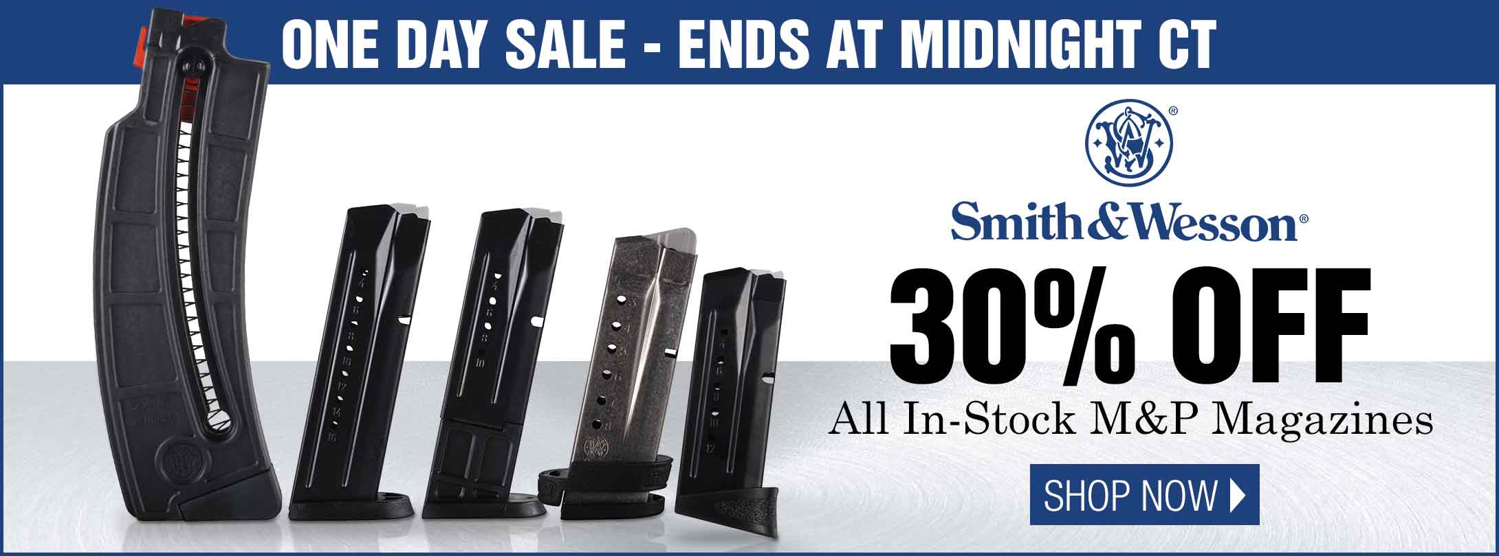 30% Off All In-Stock Smith & Wesson Mags