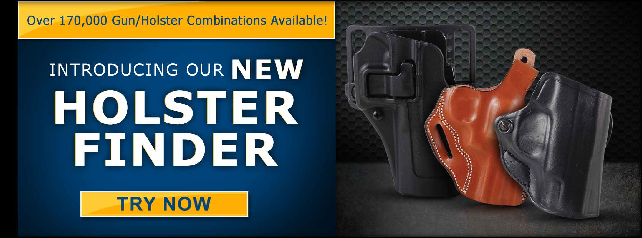 Finding a Holster Just Got Easier + Save On Your Favorite