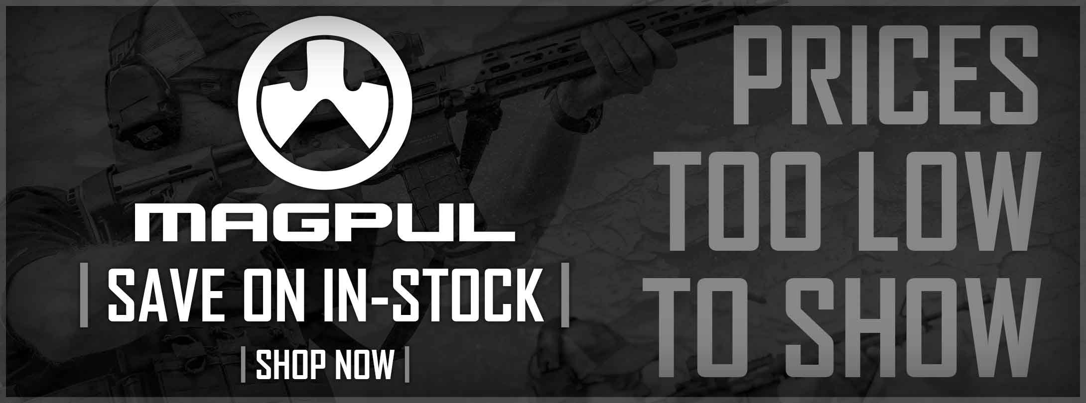 Save on In-Stock Magpul!
