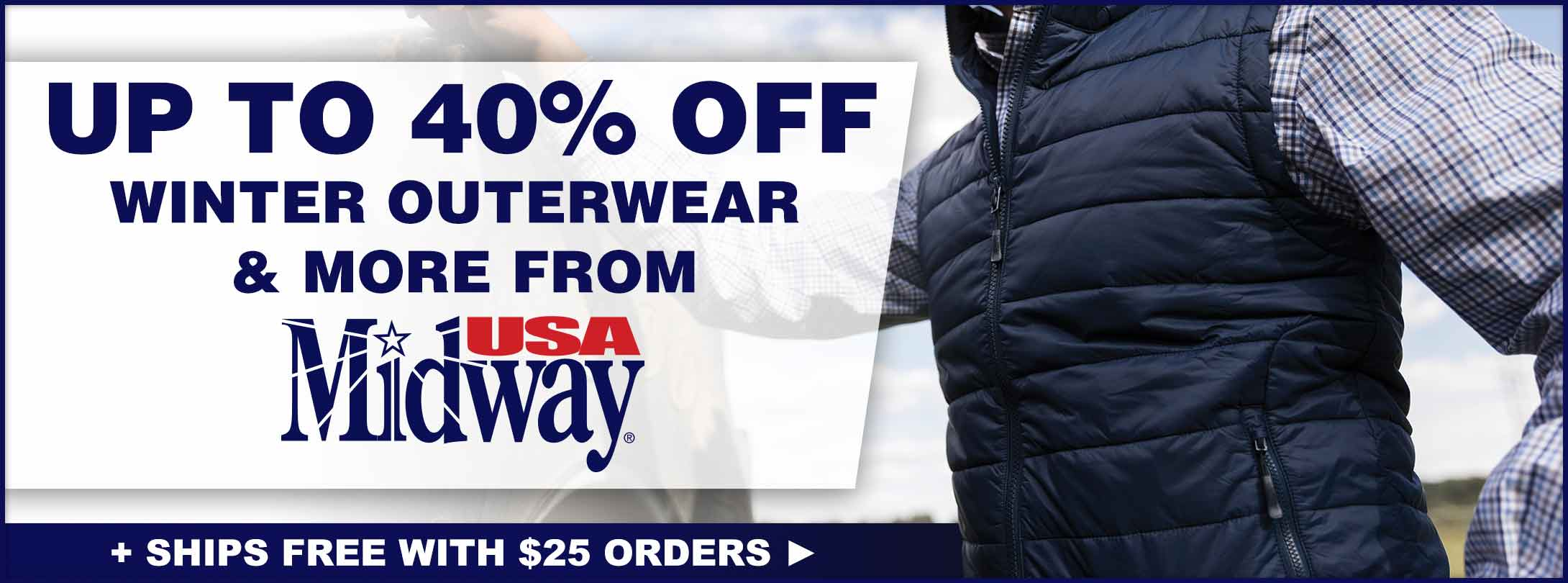 Save on MidwayUSA Casual Clothing