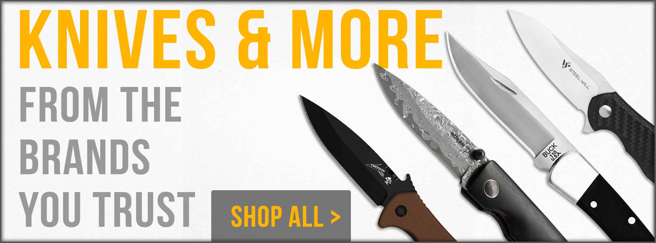 Keep a Sharp Knife With You!