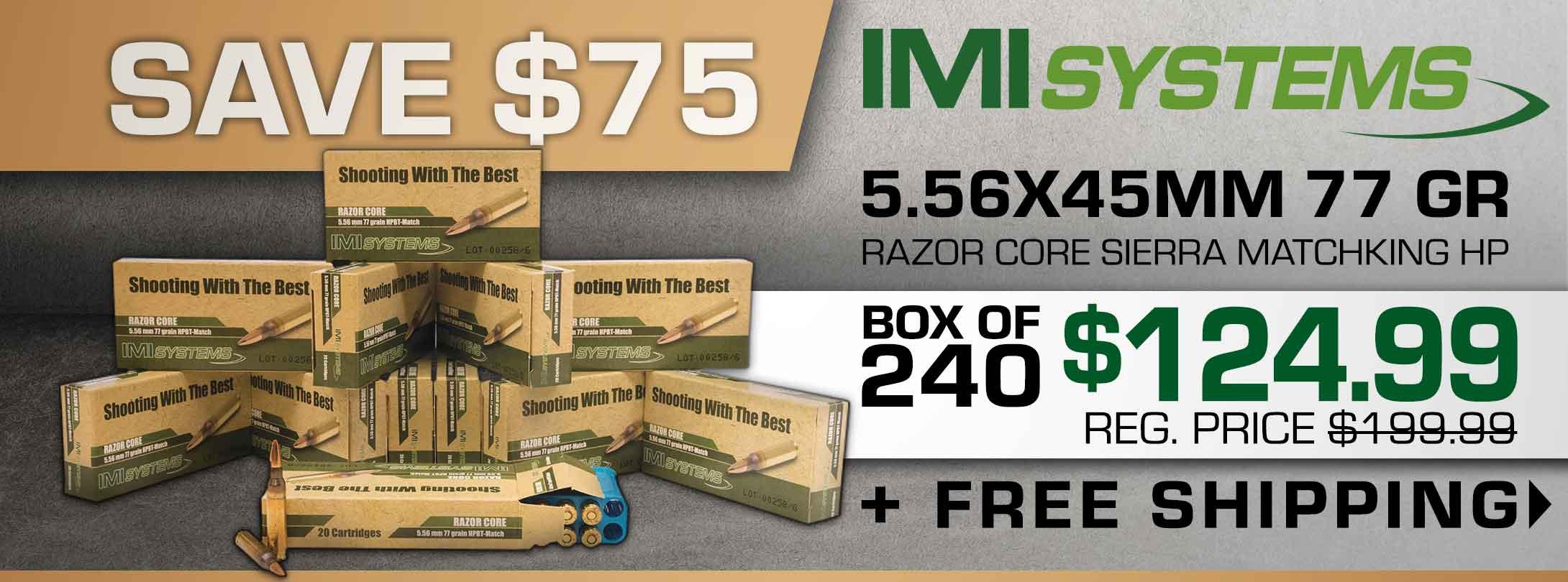 Save on IMI 5.56 Razor Core