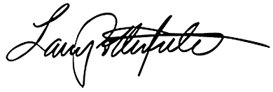 Larry Potterfield Signature