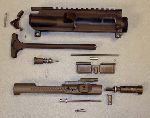 AR-15 Upper Assembly (without Barrel Assembly)