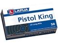 Lapua Pistol King Ammunition 22 Long Rifle 40 Grain Lead Round Nose