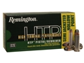 Remington High Terminal Performance Ammunition 38 Special +P 125 Grain Semi-Jacketed Hollow Point Box of 50