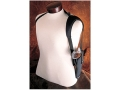 Hunter 1280-2 Ruffstuff Single Shoulder Harness Right Hand Converts Ruffstuff Belt Holster to Shoulder Carry Nylon Black