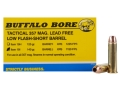 Buffalo Bore Ammunition 357 Magnum Short Barrel 140 Grain Barnes TAC-XP Hollow Point Low Flash Lead-Free Box of 20