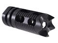 "Yankee Hill Machine Muzzle Brake Phantom 5M1 Aggressive 1/2""-28 Thread AR-15 Parkerized"