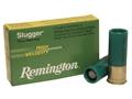 """Remington Slugger Ammunition 12 Gauge 2-3/4"""" 7/8 oz High Velocity Rifled Slug Box of 5"""