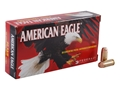 Federal American Eagle Ammunition 40 S&W 165 Grain Full Metal Jacket Box of 50
