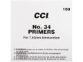 CCI 7.62mm NATO-Spec Military Primers #34