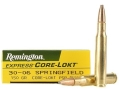 Remington Express Ammunition 30-06 Springfield 150 Grain Core-Lokt Pointed Soft Point Box of 20