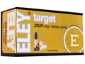 Eley Target Ammunition 22 Long Rifle 40 Grain Lead Round Nose
