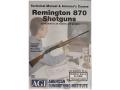 "American Gunsmithing Institute (AGI) Technical Manual & Armorer's Course Video ""Remington 870 Shotguns"" DVD"