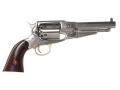 Uberti 1858 Remington Steel Frame Black Powder Revolver 44 Caliber Stainless Steel Barrel
