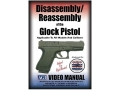 "American Gunsmithing Institute (AGI) Disassembly and Reassembly Course Video ""Glock Pistols"" DVD"