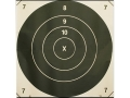 NRA Official High Power Rifle Targets Repair Center LR-C 800-1000 Yard Slow Fire Paper Package of 50