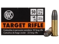 RWS Target Rifle Ammunition 22 Long Rifle 40 Grain Lead Round Nose