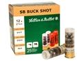 """Sellier & Bellot Ammunition 12 Gauge 2-3/4"""" 00 Buckshot 9 Pellets"""