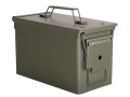 "Military M2A1 Ammo Can 50 Caliber New 11"" x 5-1/2"" x 7"" Olive Drab"