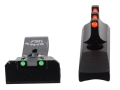 Williams Adjustable Fire Sight Set Browning Buckmark Aluminum Black Fiber Optic Red Front, Green Rear