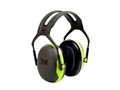 Peltor X4 Ear Defenders Earmuffs (NRR27 dB) Chartreuse