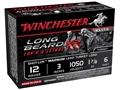 """Winchester Long Beard XR Turkey Ammunition 12 Gauge 3"""" 1-7/8 oz #6 Copper Plated Shot"""