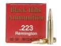 Black Hills Ammunition 223 Remington 69 Grain Sierra MatchKing Hollow Point Box of 50