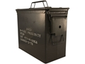 "Military Surplus Ammo Can 50 Caliber Tall 11"" x 5-1/2"" x 10"""