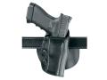 """Safariland 568 Custom Fit Belt & Paddle Holster Colt King Cobra, Python, Trooper, Ruger GP100, Security Six, Speed Six, S&W K & L Frames 4"""" - 4.5"""" Barrel Composite Black"""