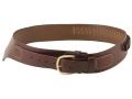 Triple K 110 Wyoming Western Single Holster Drop-Loop Cartridge Belt