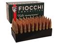 Fiocchi Shooting Dynamics Ammunition 300 AAC Blackout 150 Grain Full Metal Jacket Boat Tail